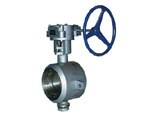 Butt Welded Butterfly Valve